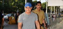 Aamir Khan departs for Nagpur for his Save Water project meet