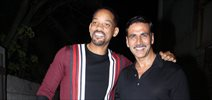 Akshay Kumar hosts a party in honour of Hollywood superstar Will Smith