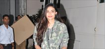 Athiya Shetty snapped post ad shoot