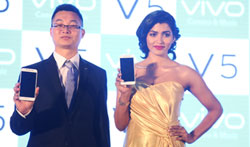 Dhansika launched Vivo Global V5 Smart phone - Pictures