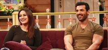 John, Sonakshi promote Force 2 on the Kapil Sharma show