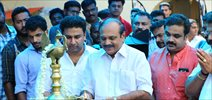 Georgettan's Pooram Movie Pooja