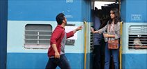 Arjun and Shraddha shoot a train sequence for half girlfriend