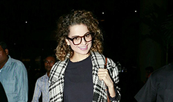 Kangana Ranaut,Parineeti Chopra, Amy Jackson and Others snapped at the airport - Pictures