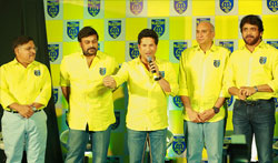 Chiranjeevi, Nagarjuna to Co-own Tendulkar's Kerala Blasters - Pictures