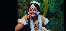 Manju Warrier as Kavalam's Shakuntala