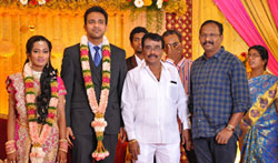 Producer TR Selvam Daughter Kiruthika Wedding - Pictures