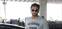 Ranveer Singh snapped leaving to shoot for 'Befikre' in Paris