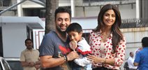 Celebs with their kids grace Shilpa Shetty's son birthday