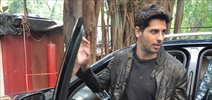 Sidharth Malhotra snapped post ad shoot