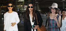 Sonam Kapoor, Kangna Ranaut, Sonali Bendre and others snapped at the airport