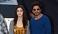 Shah Rukh Khan and Alia Bhatt at Dear Zindagi promotions