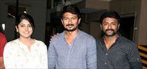 Udhaynidhi Stalin Celebrated his Birthday at the Sets Lyca Productions