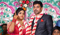 Actor Vasu Vikram's Daughter Vasugi Wedding Reception - Pictures