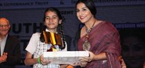 Vidya Balan At Youth For Unity Interactive Session
