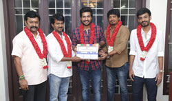 Vishnu Vishal Studioz Production No.3 Movie Pooja - Pictures