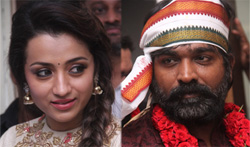 Vijay Sethupathi - Trisha starring movie 96 Pooja - Pictures