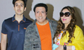 Govinda's family watches 'Aagaya Hero'