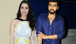Arjun Kapoor and Shraddha promote Half Girlfriend on Star Plus serial sets - Pictures