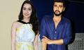 Arjun Kapoor and Shraddha promote Half Girlfriend on Star Plus serial sets