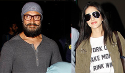 Aamir Khan, Sunny Leone and others snapped at Airport - Pictures