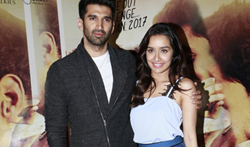 Aditya Roy Kapur & Shraddha Kapoor snapped at 'Ok Jaanu' promotions - Pictures