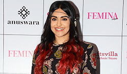 Adah Sharma snapped attending the Craftsvilla fashion showcase - Pictures