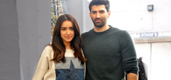 Aditya Roy Kapur and Shraddha Kapoor at Ok Jaanu promotions - Pictures