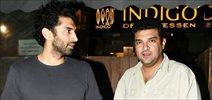 Aditya Roy Kapur and Siddharth Roy Kapur snapped at Indigo