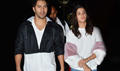 Alia Bhatt and Varun Dhawan snapped at Airport returning from Jaipur Badrinath promotions