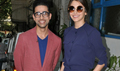 Anushka Sharma and Suraj Sharma snapped at Phillauri promotions