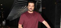 Anil Kapoor snapped post dinner at Hakassan