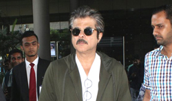 Anil Kapoor Snapped at the airport - Pictures