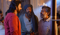 Baahubali 2 working stills - Pictures