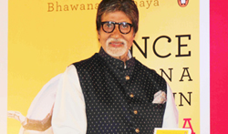 Amitabh Bachchan unveils Bhawana Somaaya's book 'Once Upon A Time In India  A Century Of Indian Cinema' - Pictures