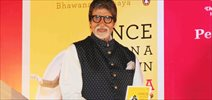 Amitabh Bachchan unveils Bhawana Somaaya's book 'Once Upon A Time In India  A Century Of Indian Cinema'