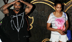Bipasha Basu and Karan Singh Grover snapped post spa session at Juhu - Pictures