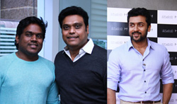 Celebrities at Harris Jayaraj's Studio H Launch - Pictures