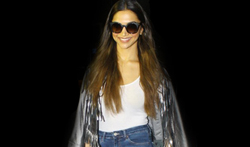 Deepika Padukone arrives back from NYFW - Pictures