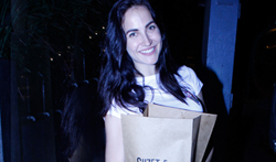 Elli Avram snapped at Kitchen Garden - Pictures