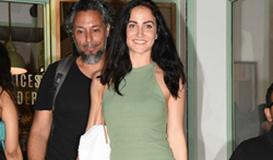 Elli Avram snapped post dinner at The Kitchen Garden - Pictures
