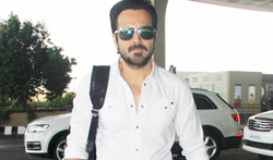 Emraan Hashmi snapped at the airport - Pictures