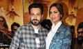 Emraan Hashmi and Esha Gupta snapped during Baadshaho promotions