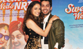 The first look launch of the film 'Sweetie Weds NRI'