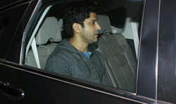 Farhan Akhtar snapped on his Birthday - Pictures