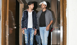 Hrithik Susanne and kids snapped post movie at PVR - Pictures