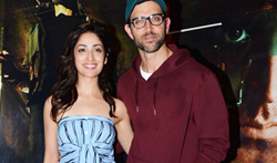 Hrithik Roshan and Yami Gautam snapped at 'Kaabil' promotions - Pictures