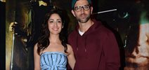 Hrithik Roshan and Yami Gautam snapped at 'Kaabil' promotions