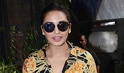 Huma Qureshi snapped post meeting at Pali Village Cafe - Pictures