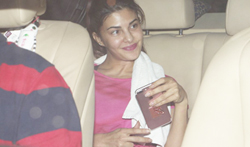 Jacqueline Fernandez snapped post dance rehearsals - Pictures